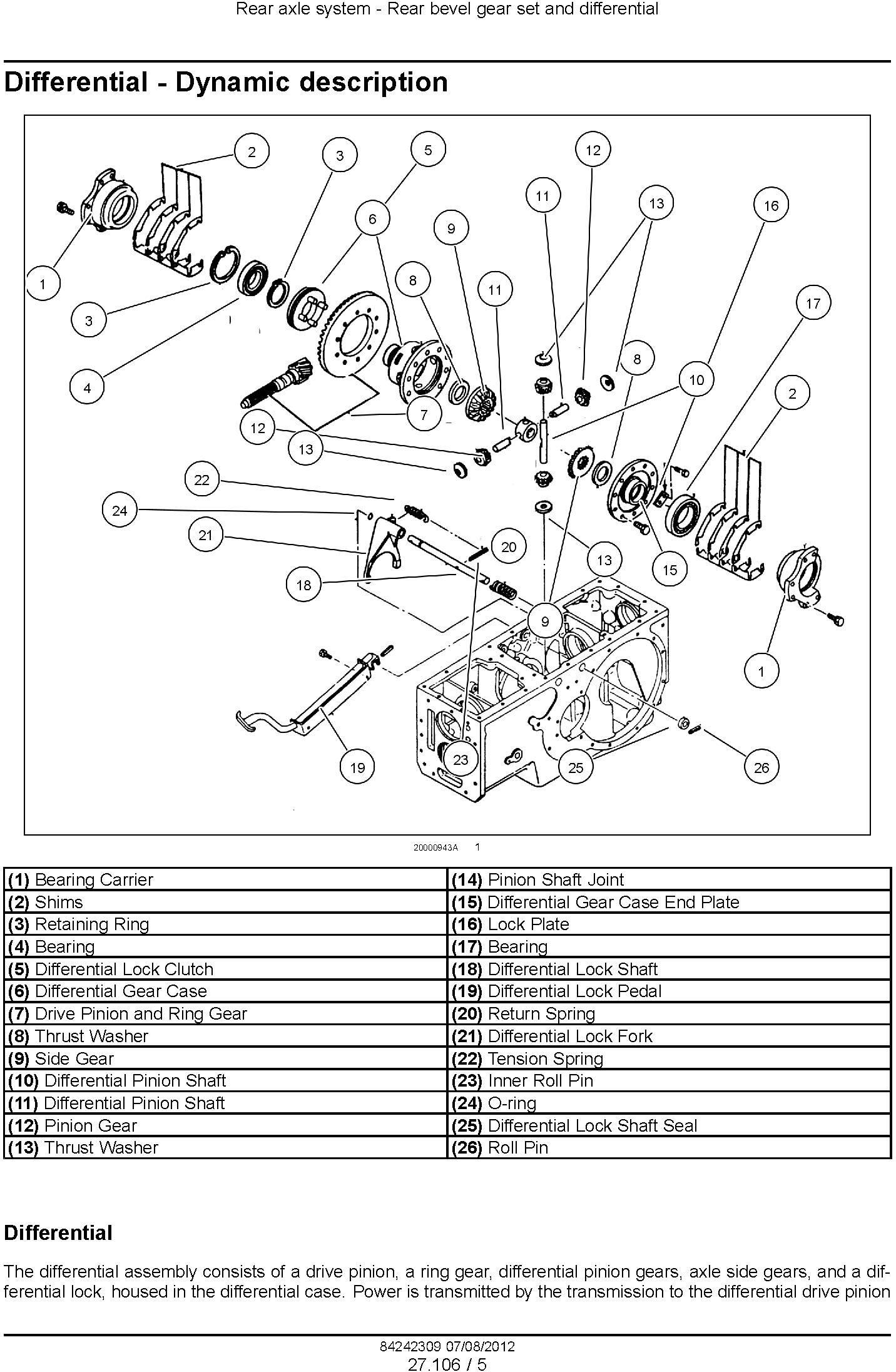 New Holland Boomer 3040, 3045, 3050 Compact Tractor (Hydrostatic or 2x12 Gear Trans.) Service Manual - 2