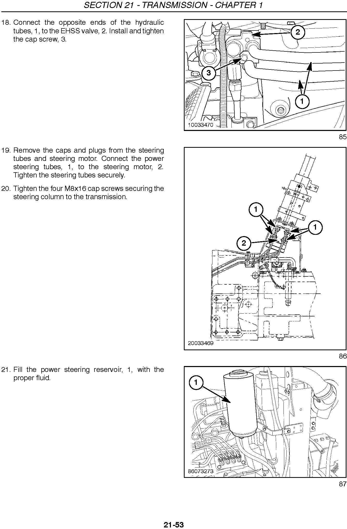 New Holland Boomer 4055, 4060 Tractor Service Manual - 1