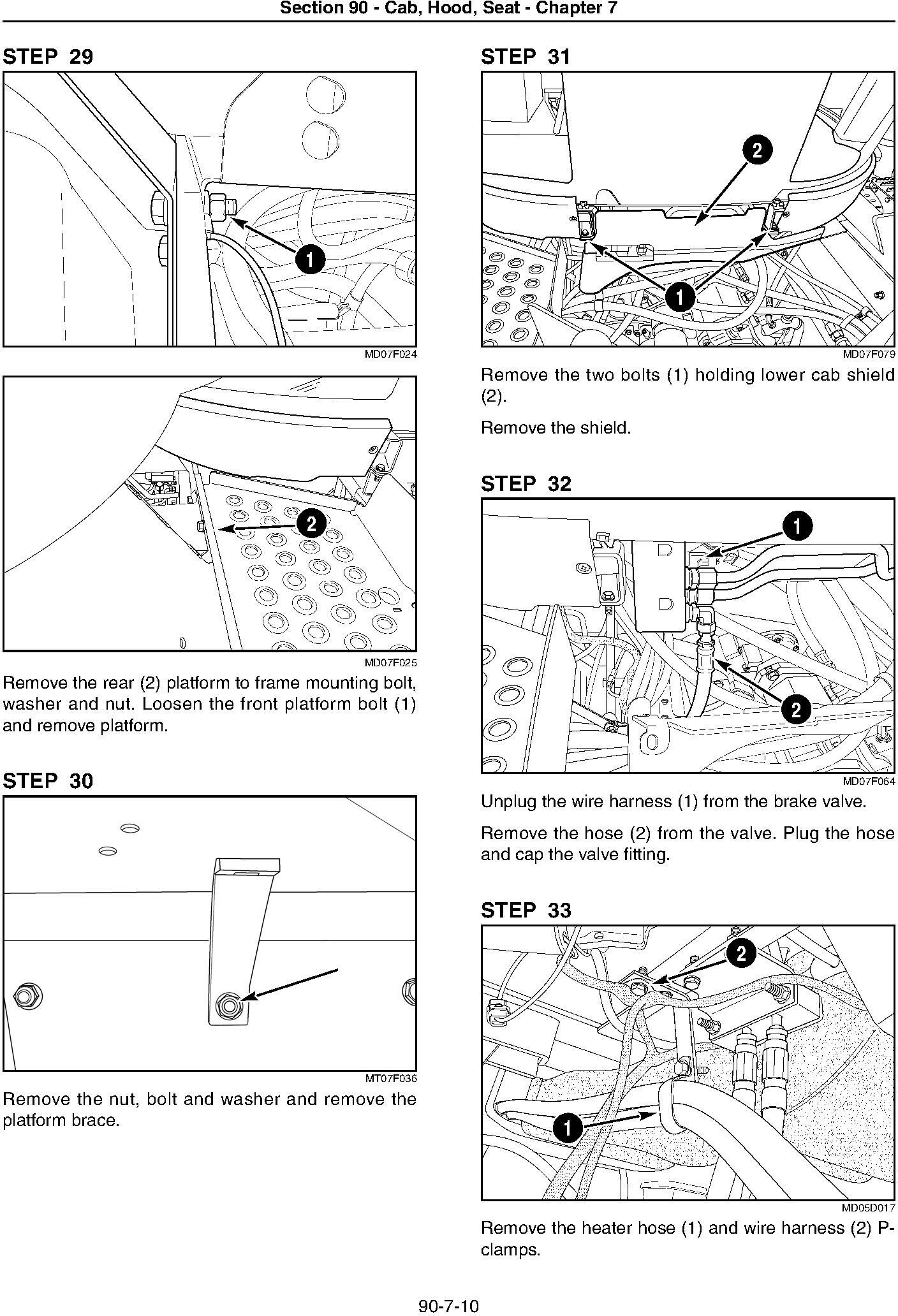 New Holland T9010,T9020, T9030,T9040, T9050, T9060, TJ280/330/380/430/480/530 Tractor Service Manual - 1
