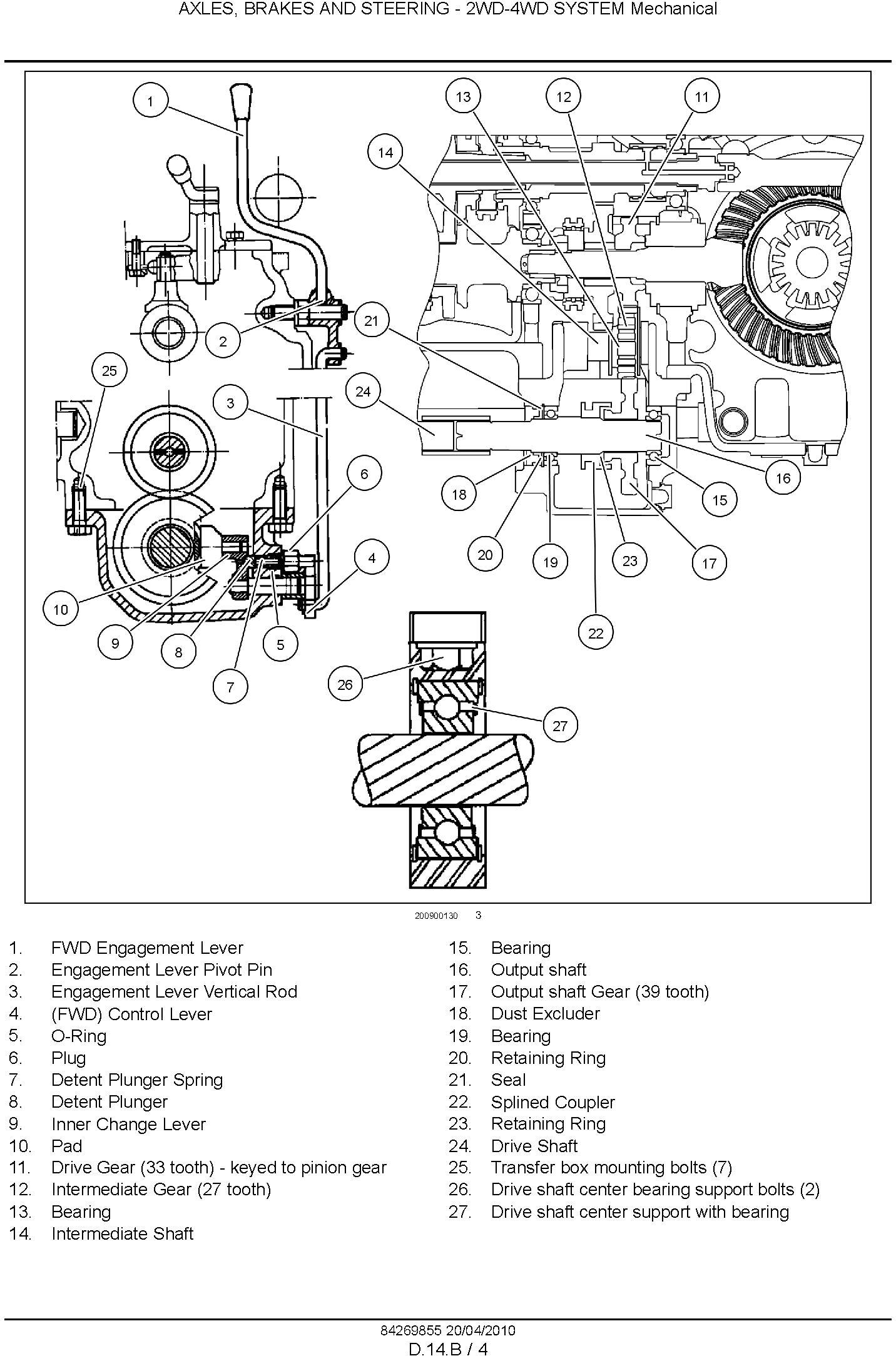 New Holland Workmaster 75, Workmaster 65 Tractor Complete Service Manual - 3