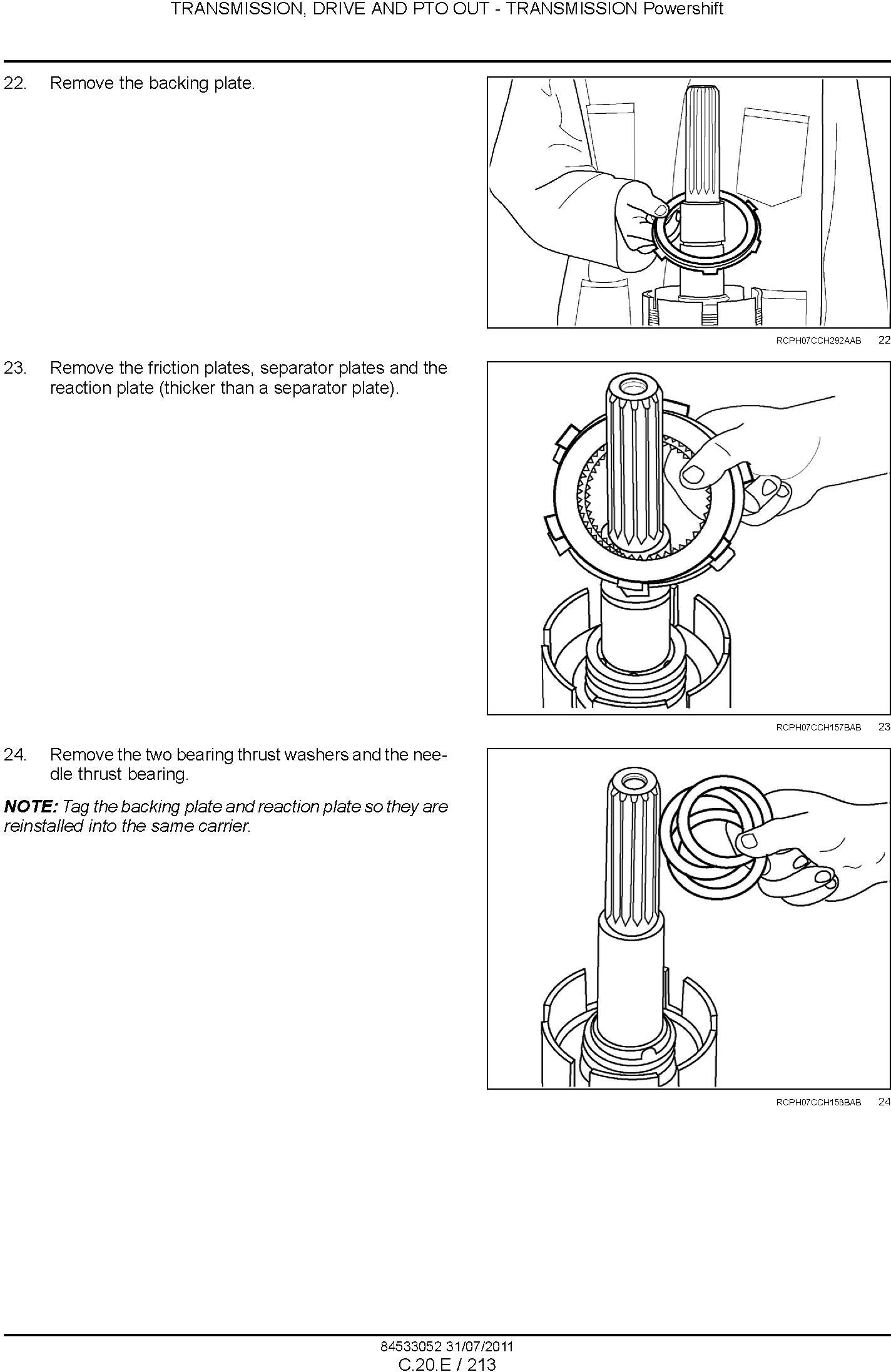 New Holland T8.275, T8.300, T8.330, T8.360, T8.390 Tractor Service Manual - 3