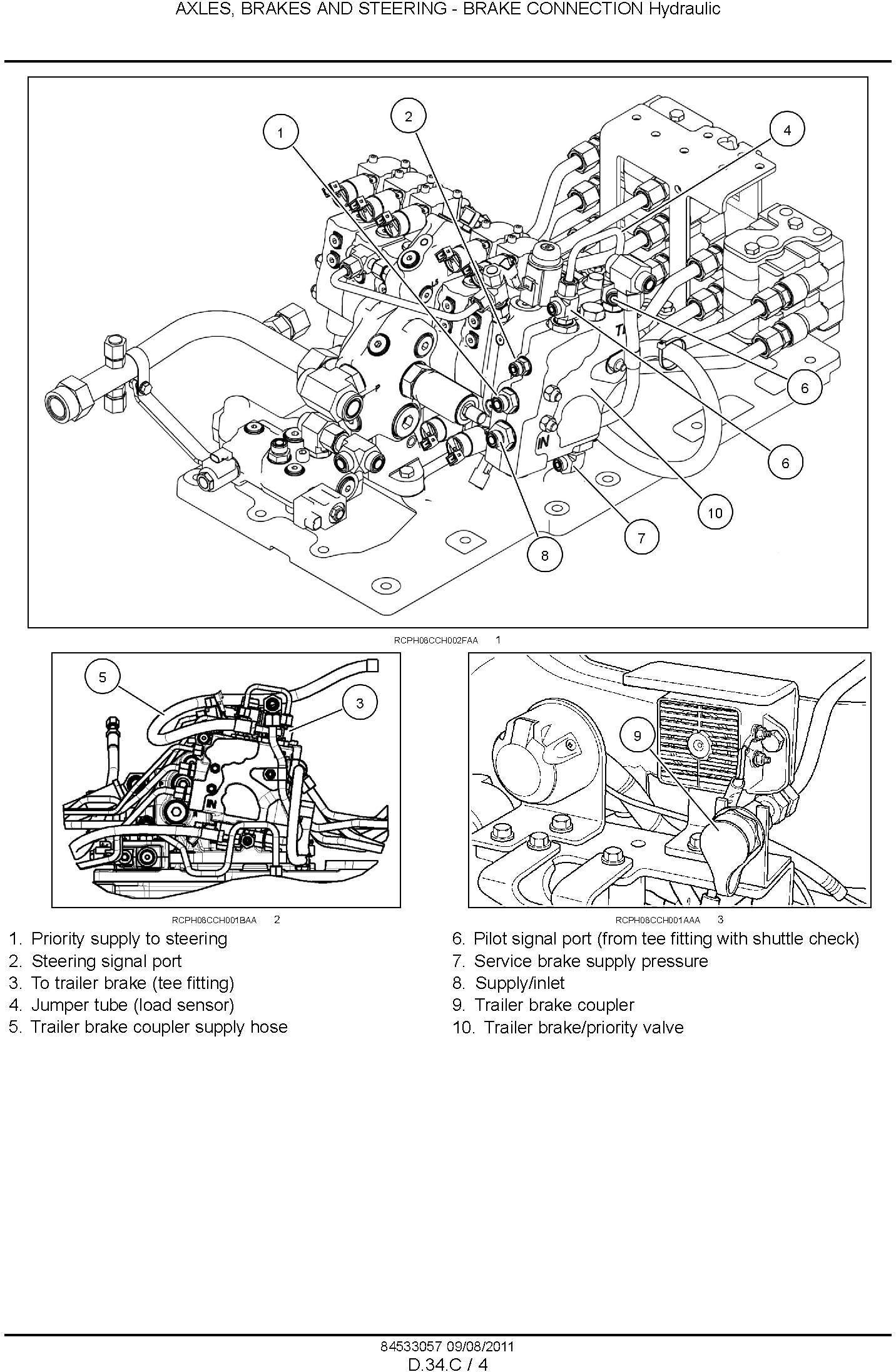 New Holland T8.275, T8.300, T8.330, T8.360, T8.390 Agricultural Tractor Service Manual (08/2011) - 3
