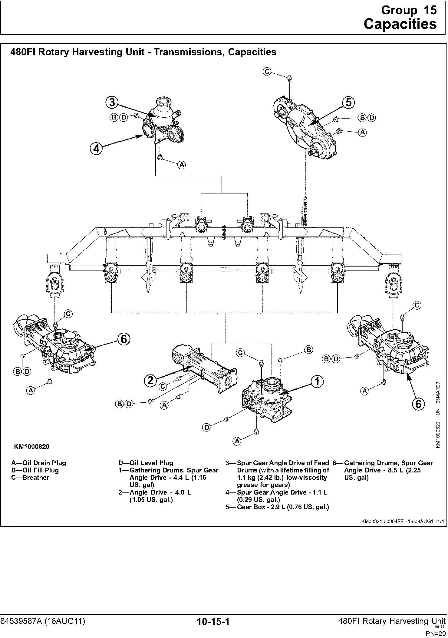 New Holland 480FI Forage Equipment Headers (08/2011) Service Manual - 2