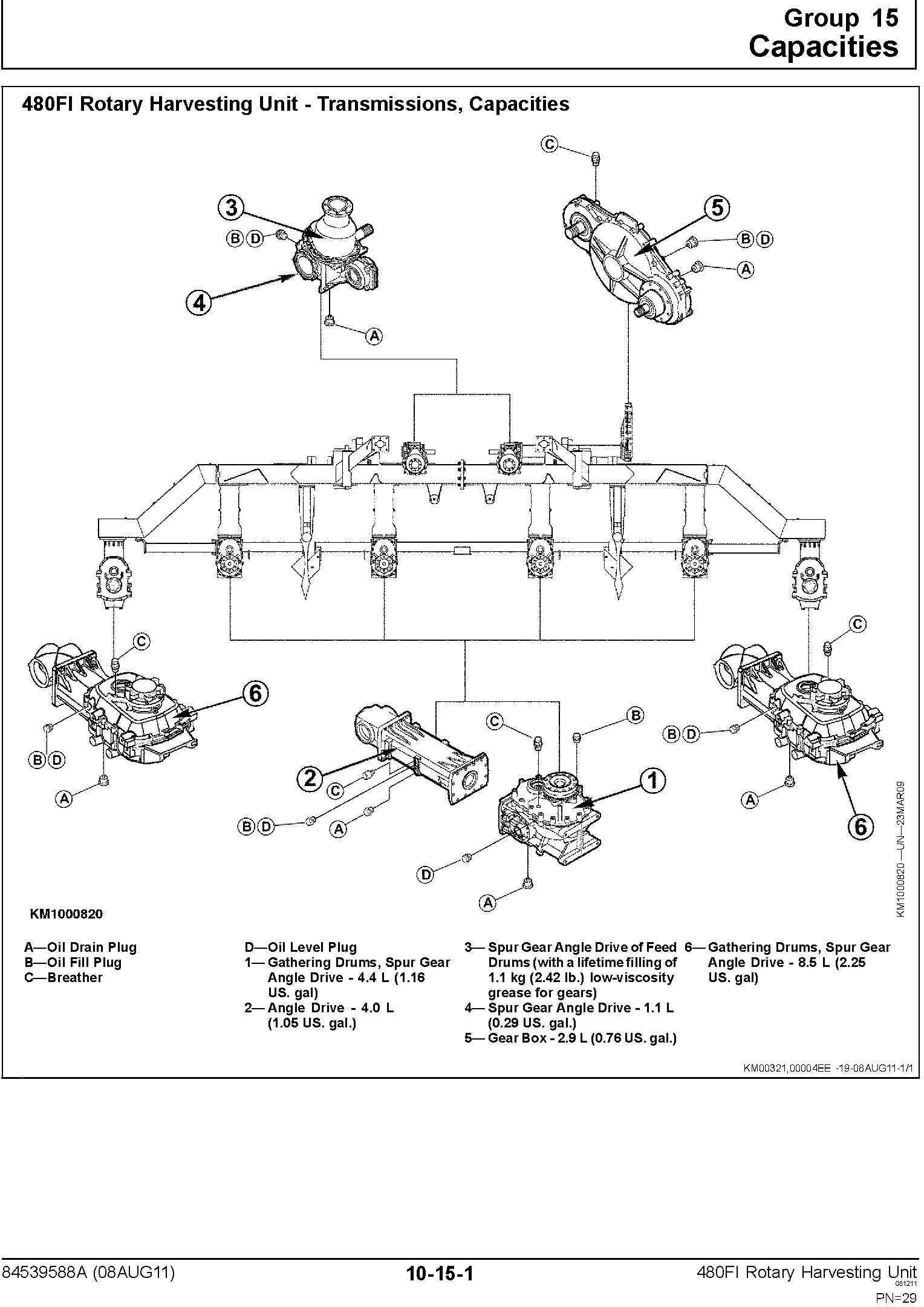 New Holland 480FI Row Independent Corn Head Service Manual - 2
