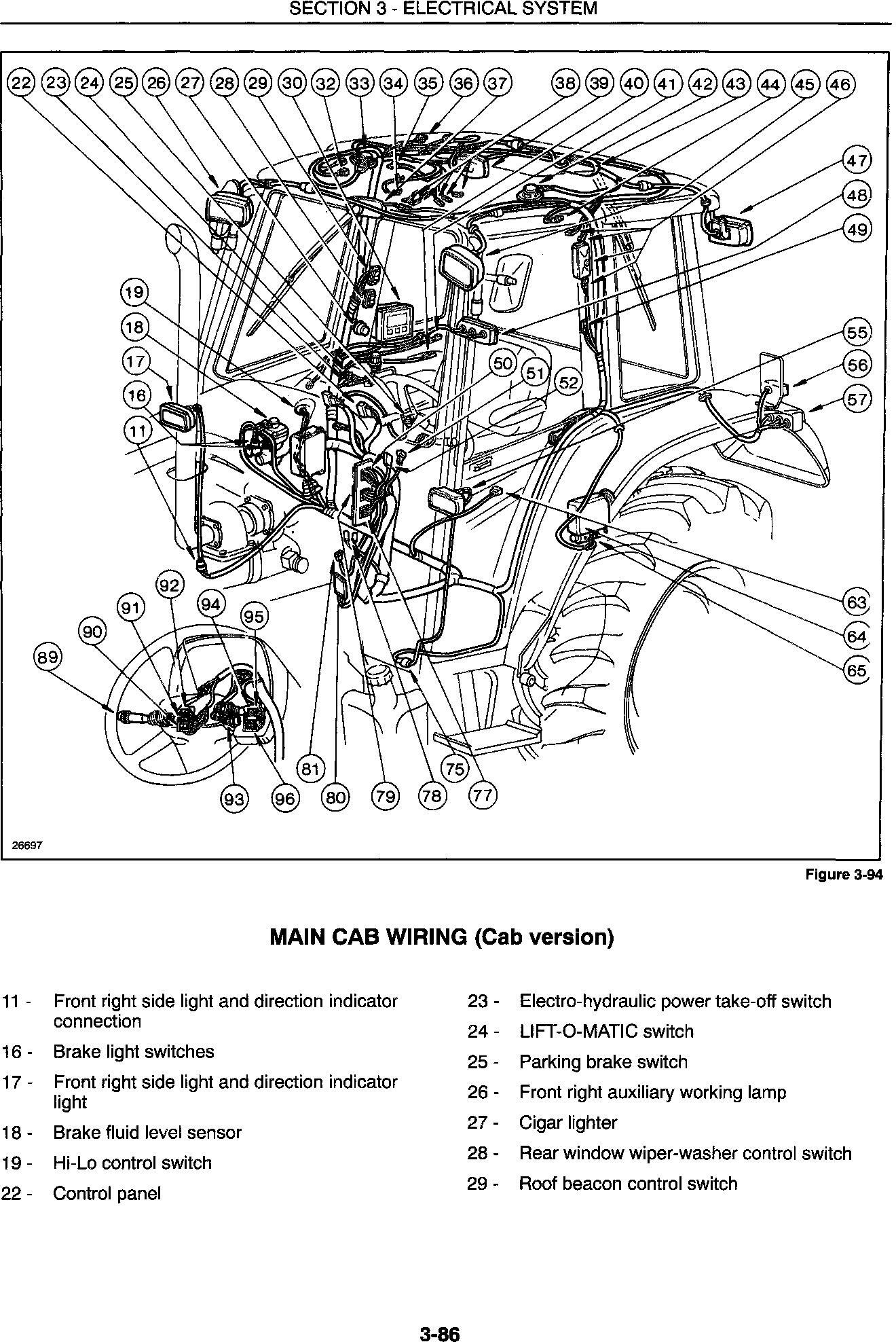 New Holland 4835, 5635, 6635, 7635 Tractor Complete Service Manual - 3