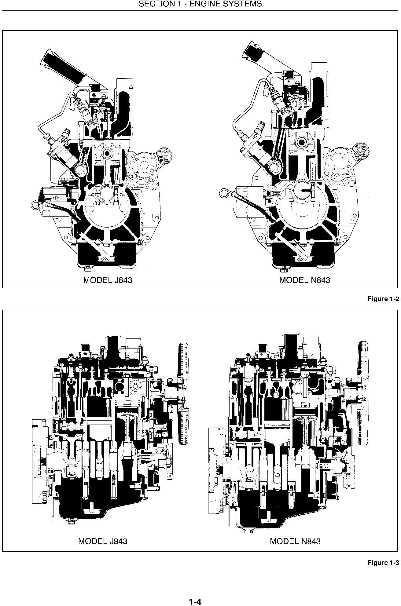 New Holland 1530, 1630, 1725, 1925, TC25, TC25D, TC29, TC29D, TC33, TC33D Tractors Service Manual - 1