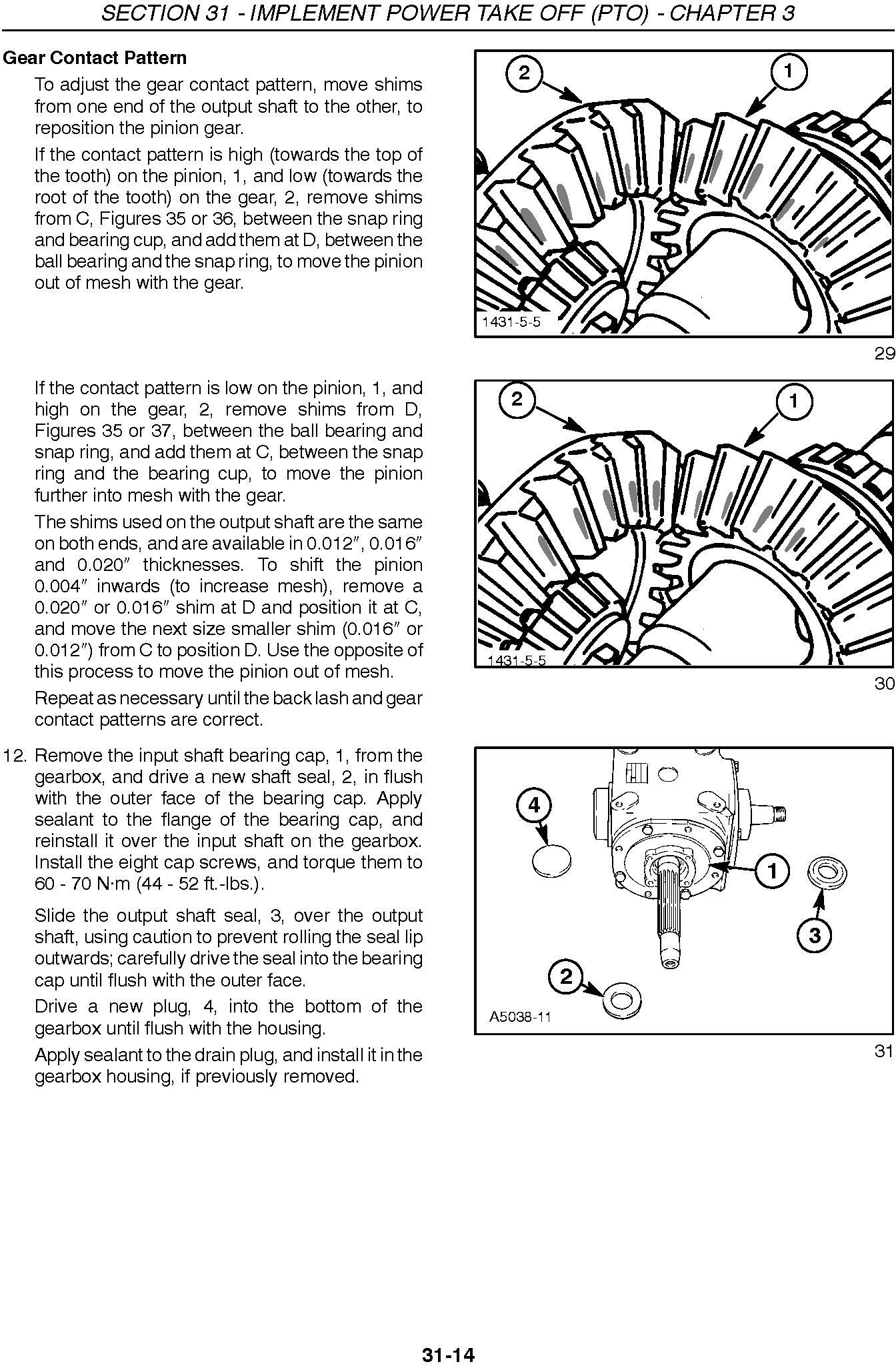 New Holland 2331, 2332 Disc Header for TV140 Service Manual - 3