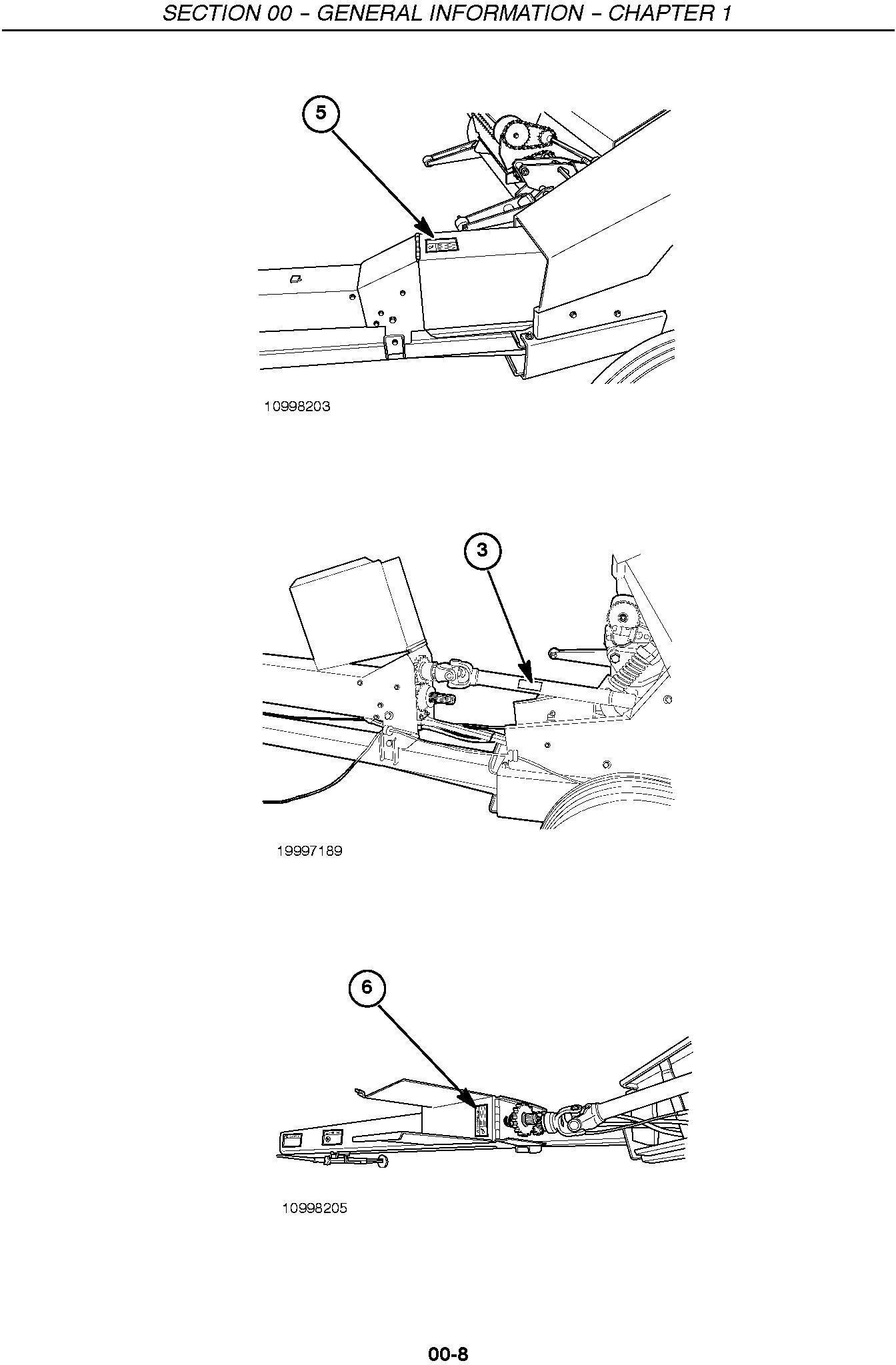 New Holland FP230, FP240 Forage Harvester Service Manual - 1