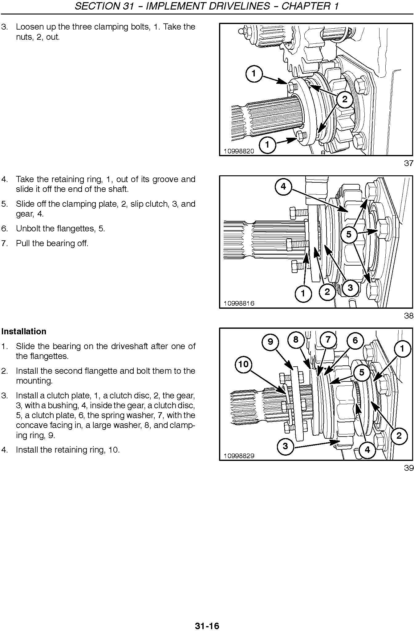 New Holland FP230, FP240 Forage Harvester Service Manual - 3