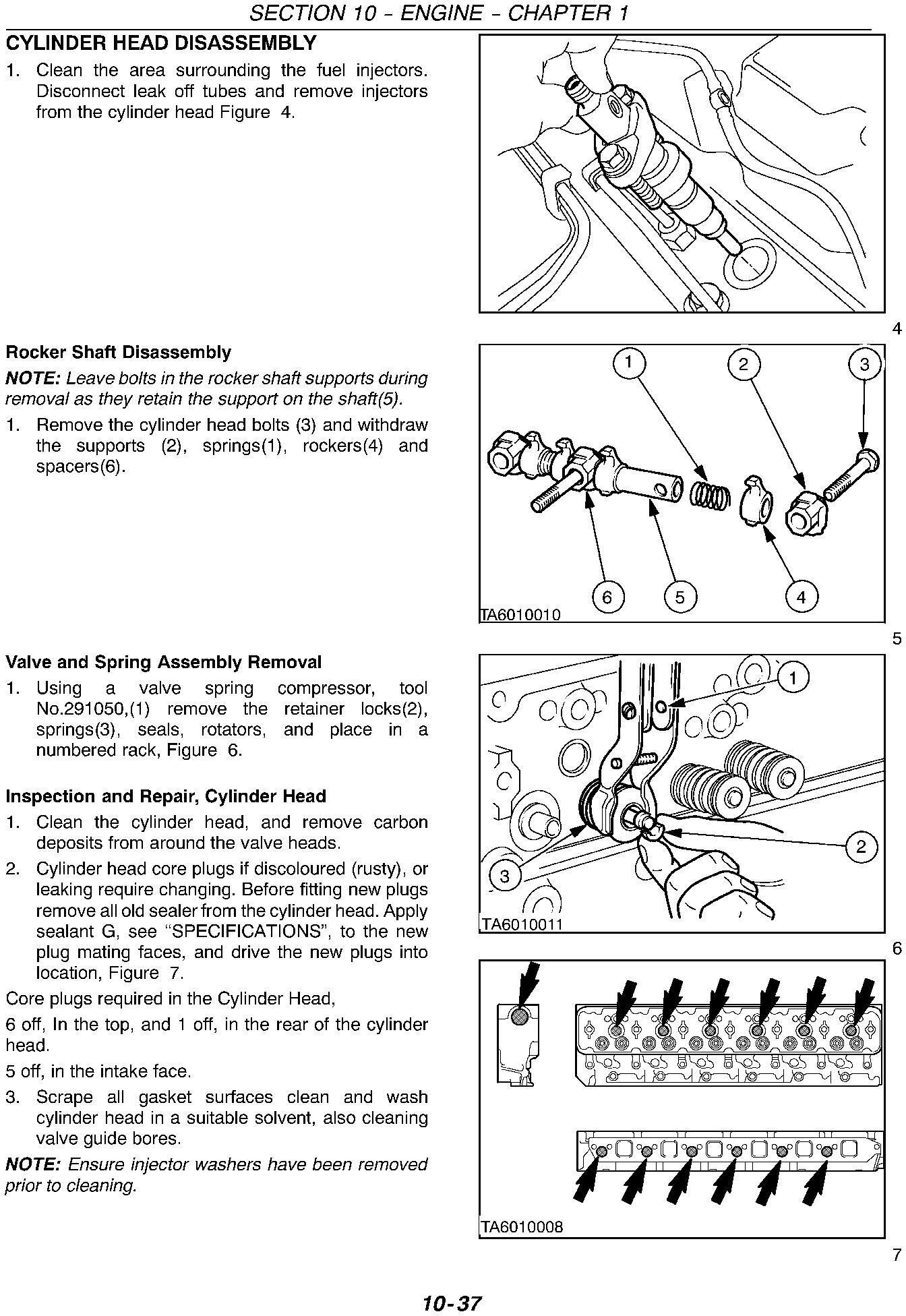New Holland TM115, TM125, TM135, TM150, TM165 Tractor Comlete Service Manual - 2