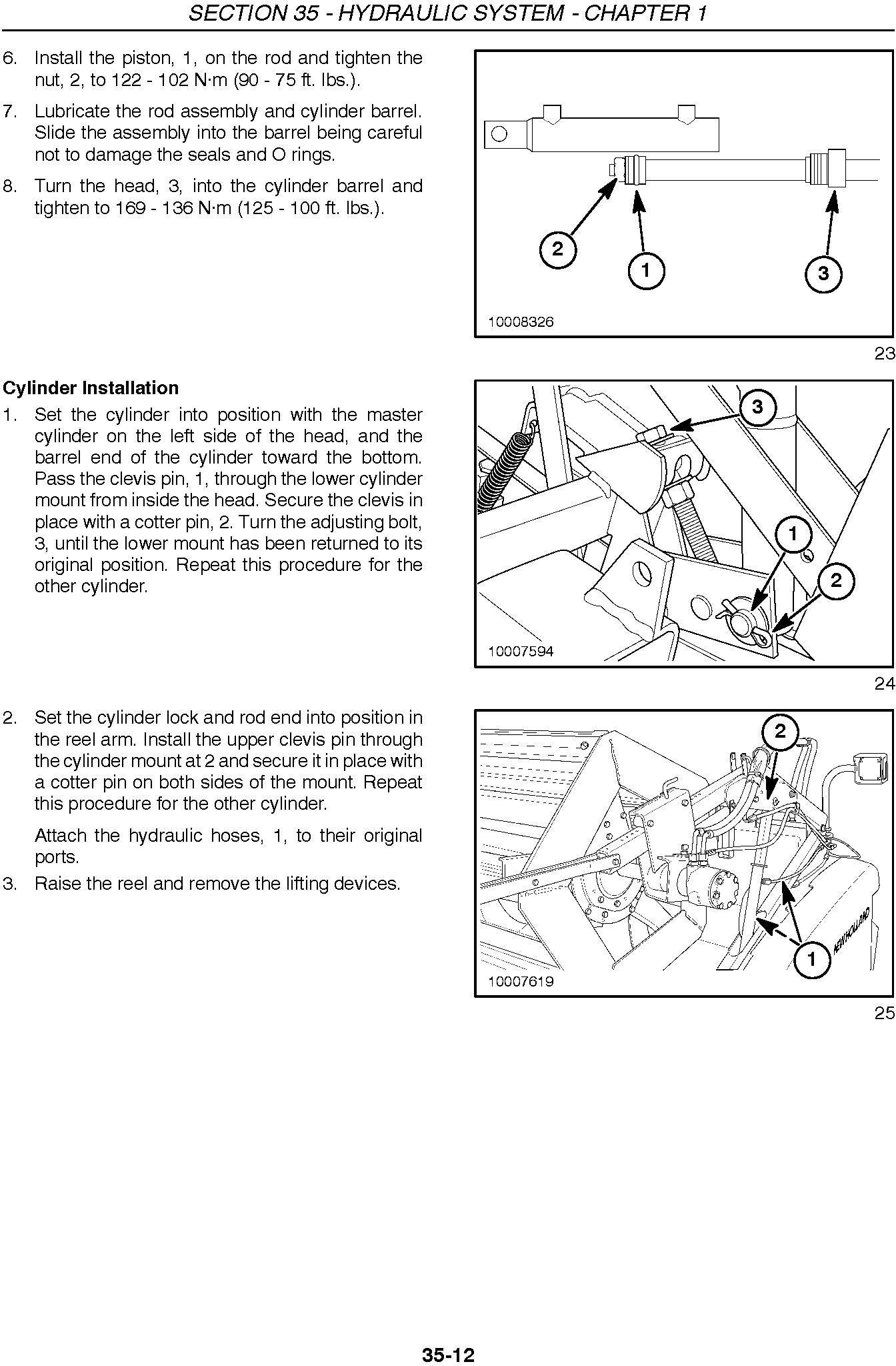 New Holland 72c, 74c Grain Head Service Manual - 2
