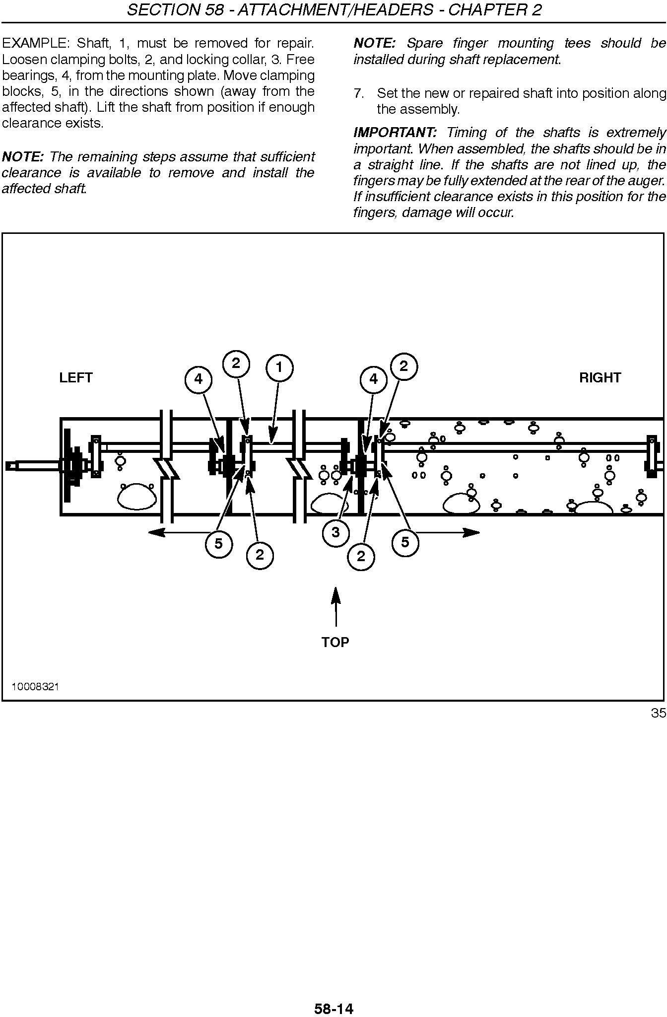New Holland 72c, 74c Grain Head Service Manual - 3
