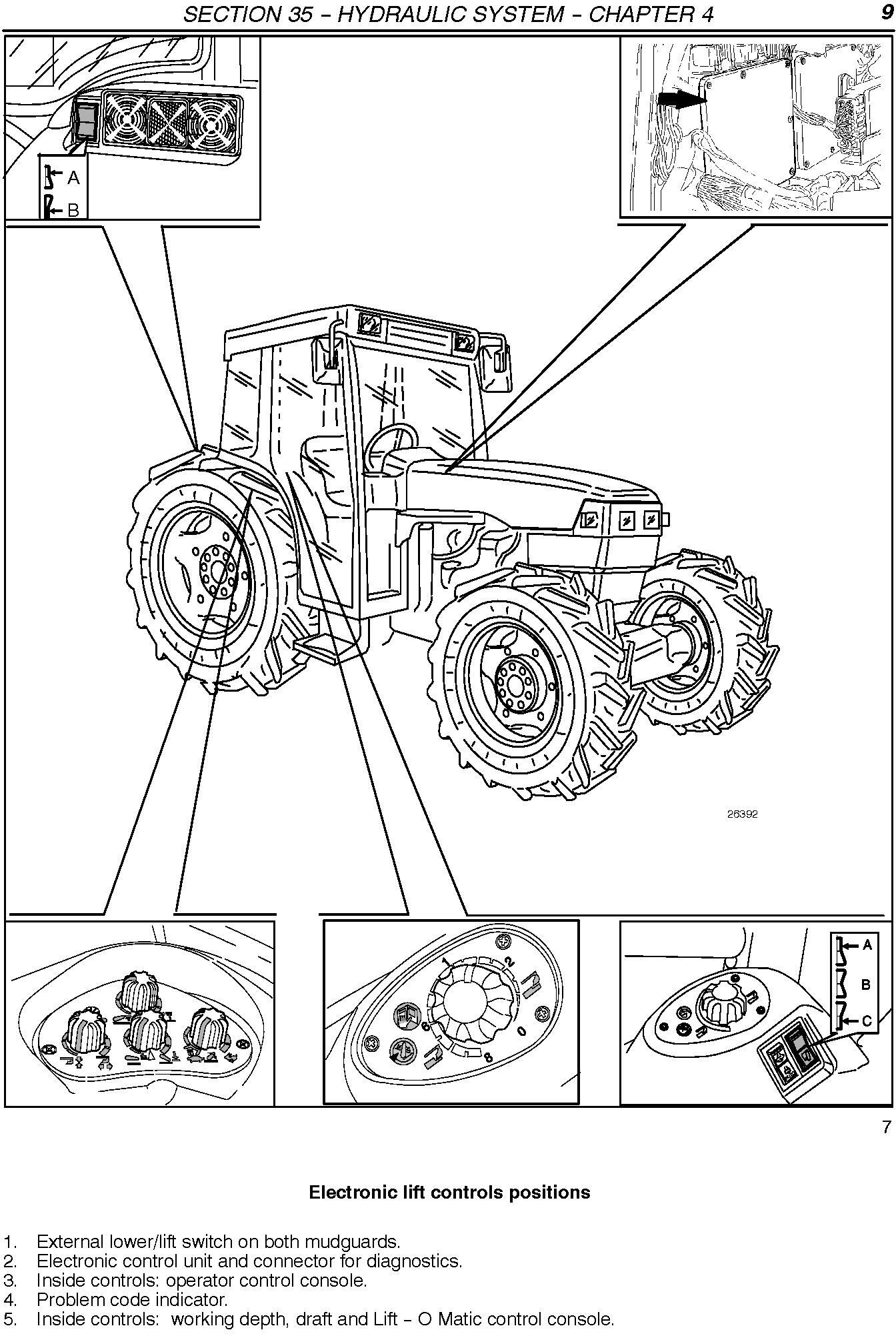 New Holland TN65F, TN70F, TN75F, TN80F, TN90F, TN95F Tractor Service Manual - 1