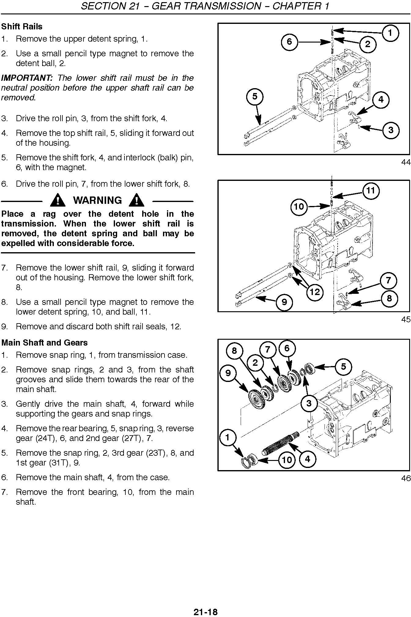New Holland TC29D, TC33D Tractor Complete Service Manual - 1