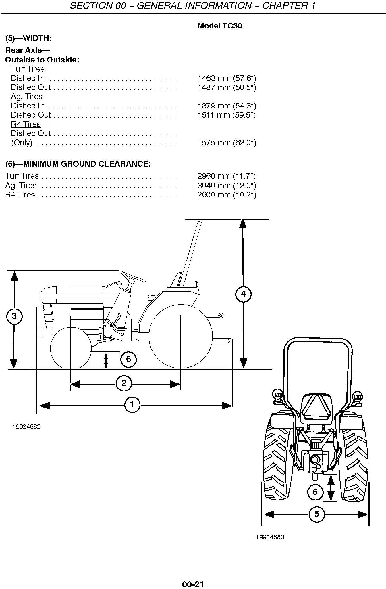 New Holland TC30 Tractor Service Manual - 1