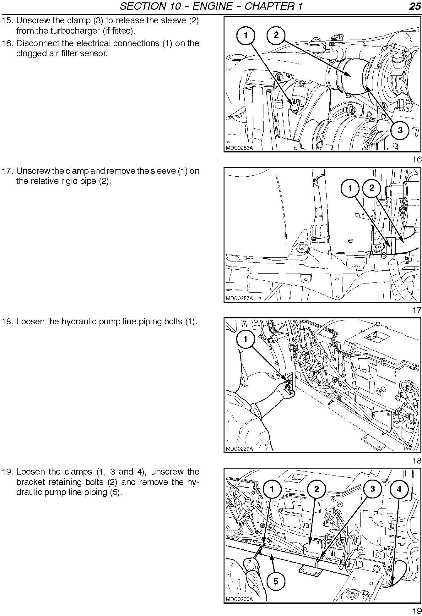 New Holland TN60VA, TN75VA, TN95VA Tractor Service Manual - 2