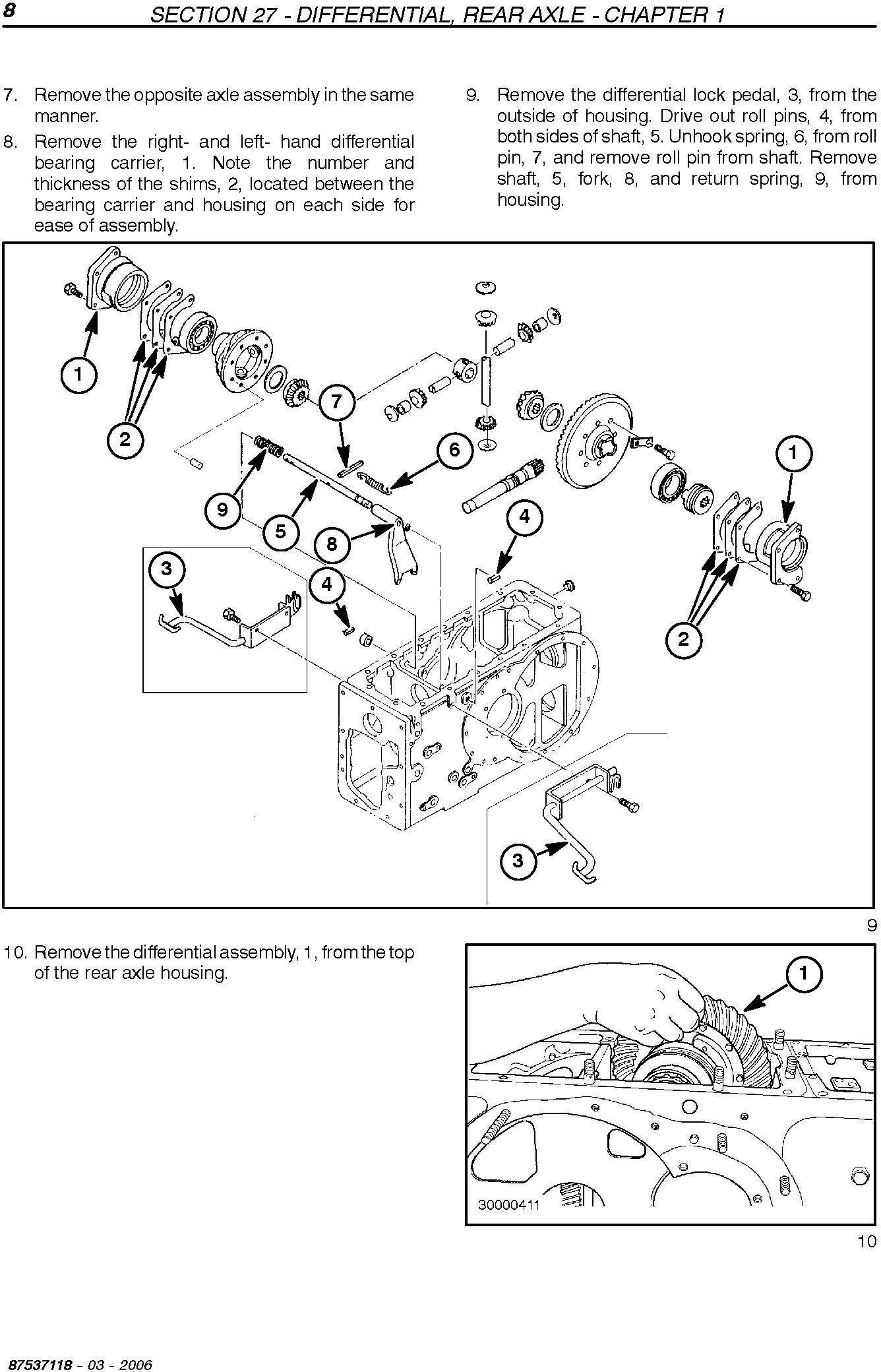 New Holland TC31DA, TC35DA Compact Tractor Manual Service Manual - 3