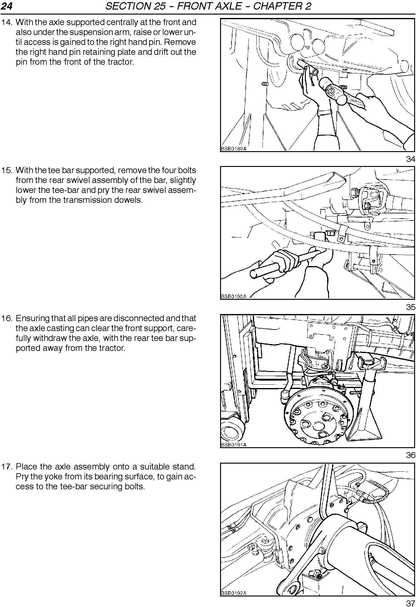 New Holland TM120, TM130, TM140, TM155, TM175, TM190 Tractors Service Manual - 2