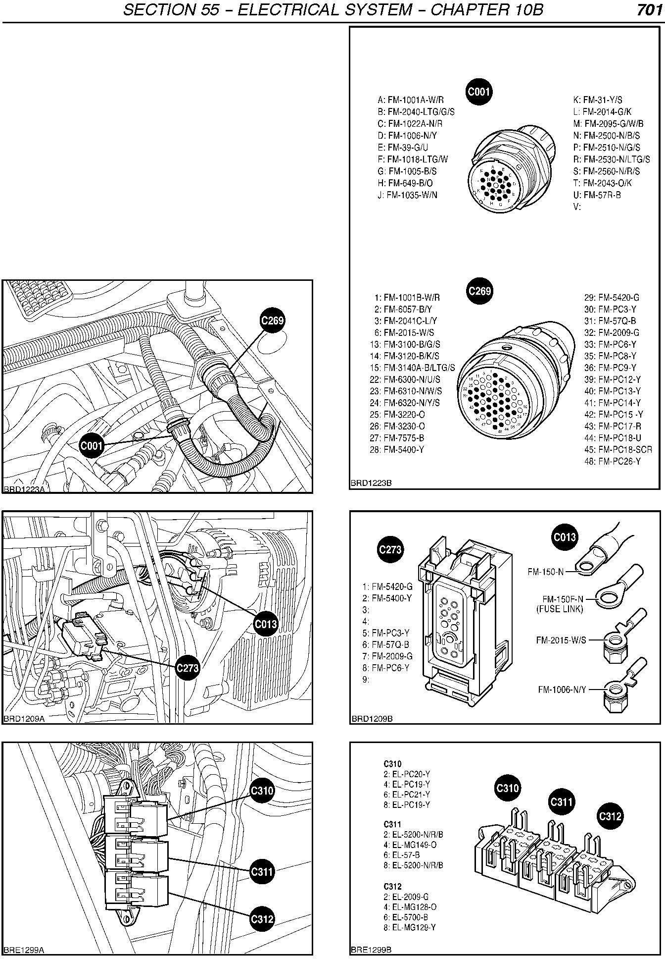 New Holland TM120/125/130/140/150/155, TM175-TM190 Tractor Fault Codes Diagnostic Service Manual - 2