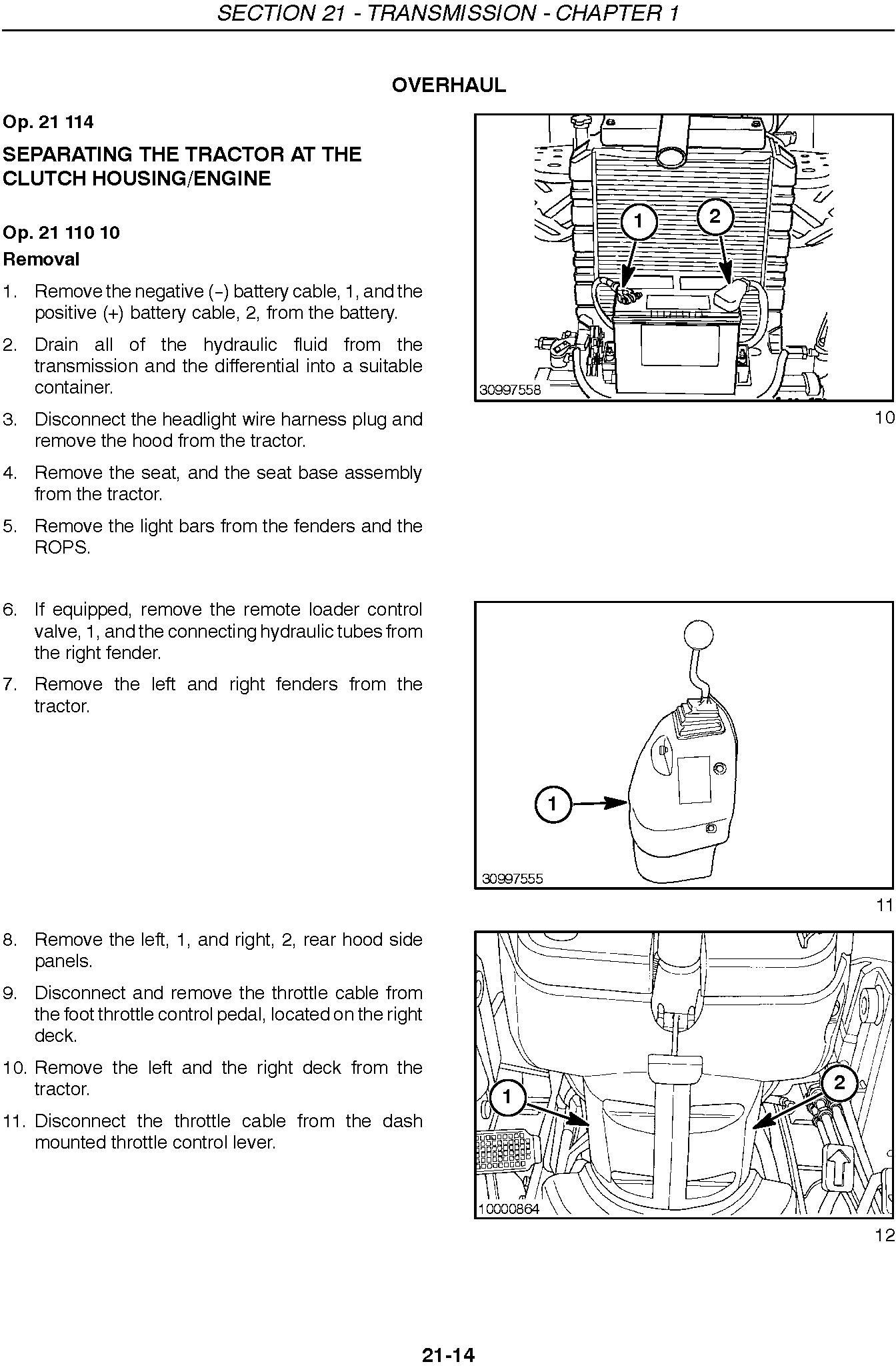 New Holland TC35A, TC35DA, TC40A, TC40DA, TC45A, TC45DA, Tractor Complete Service Manual - 1