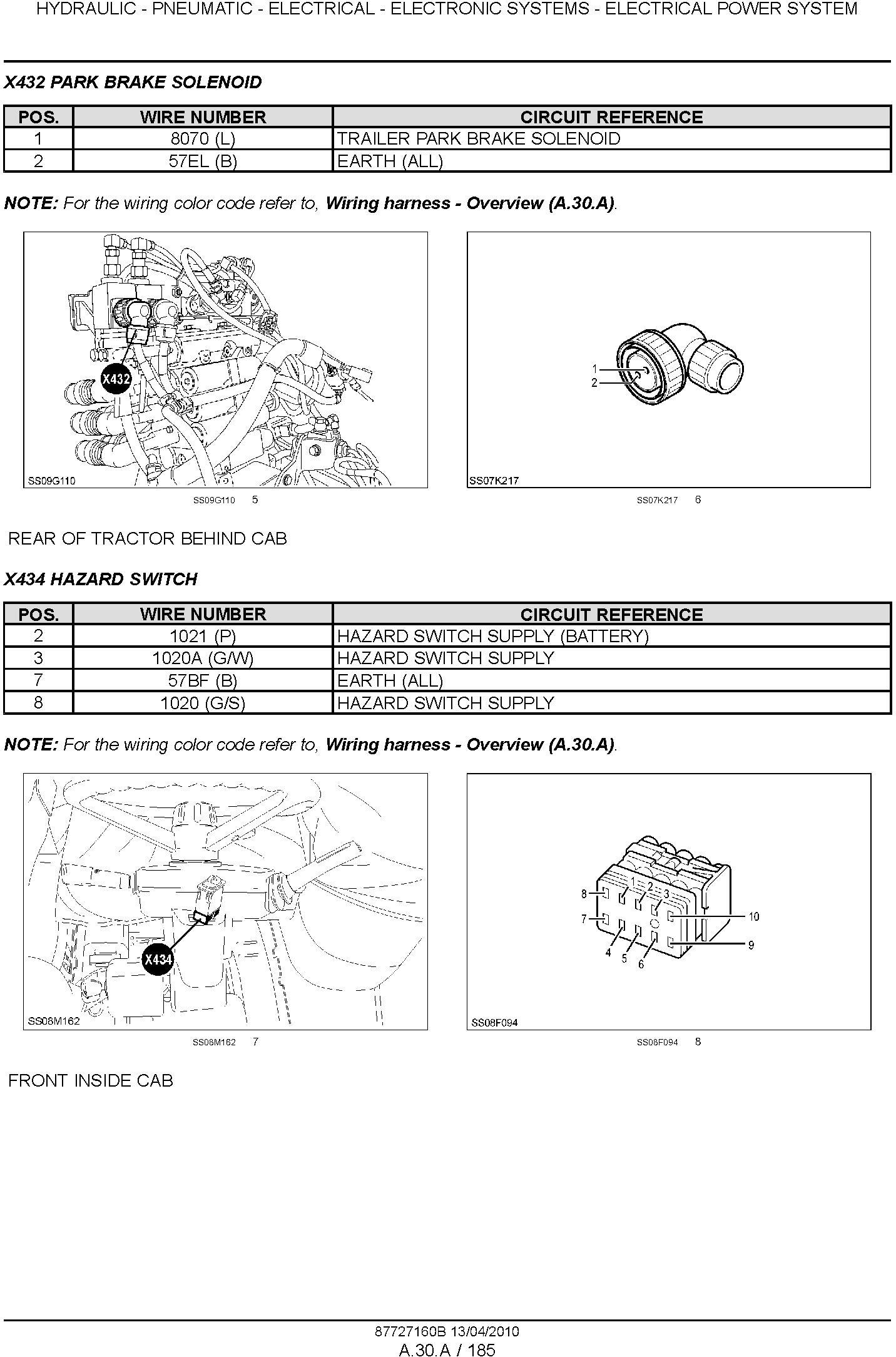 New Holland T6030, T6050, T6070, T6080, T6090 Power Command & Range Command Tractor Service Manual - 3