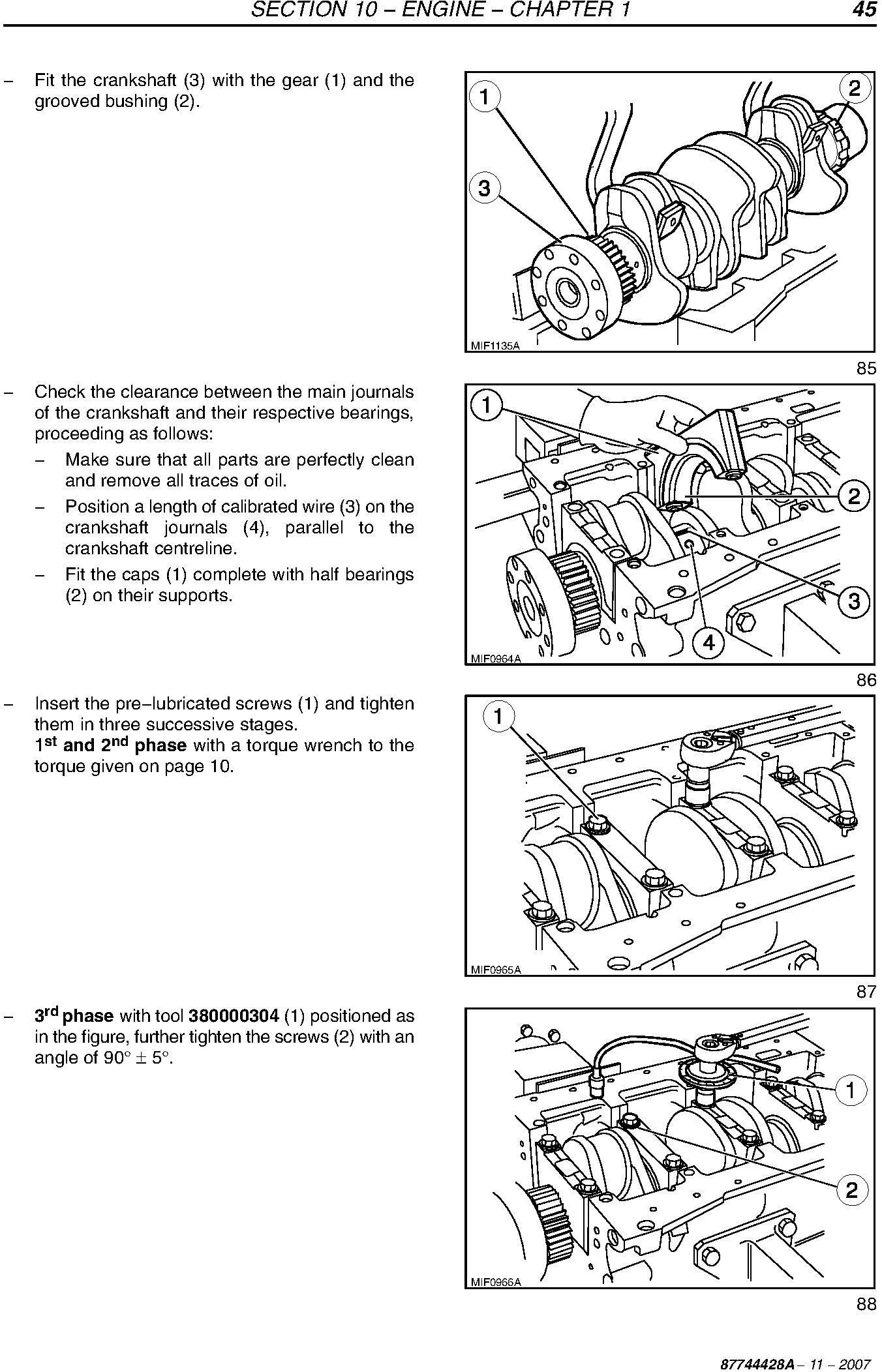 New Holland 4020, T4030, T4040, T4050 Tractors Service Manual - 2