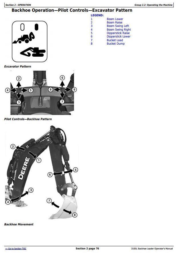 OMT357554X19 - John Deere 310SL Backhoe Loader Operator's Manual - 3