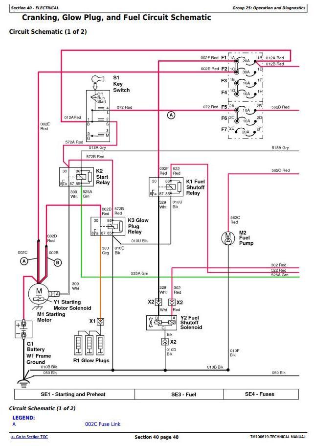TM100619 - John Deere 3032E, 3036E, 3038E Compact Utility Tractors (SN. 010001-60999) Technical Service Manual - 2