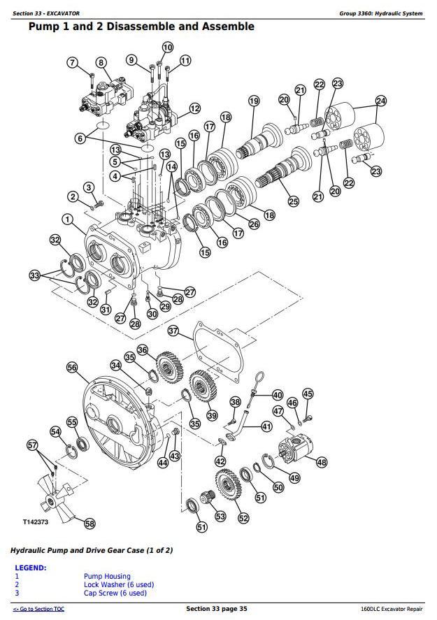 TM10091 - John Deere 160DLC Excavator Service Repair Manual - 1