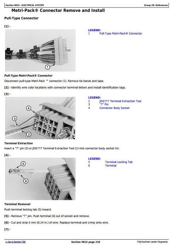TM10133 - John Deere 710J Backhoe Loader (S.N. -159769) Diagnostic, Operation & Test Service Manual - 1