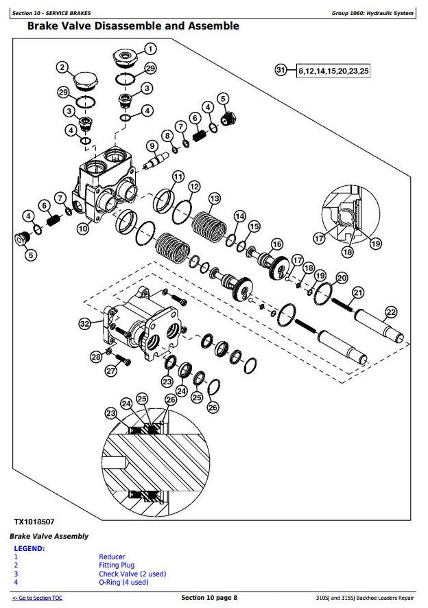 TM10146 - John Deere 310SJ (SN.-159759), 315SJ(SN.-BE315SJ300868) Backhoe Loader Service Repair Manual - 3