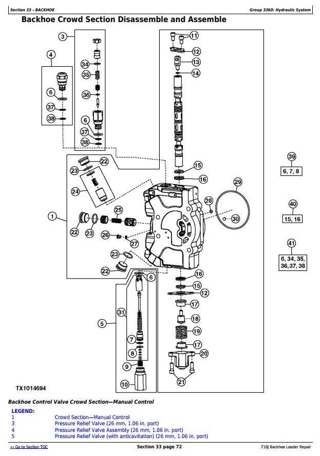 TM10148 - John Deere 710J Backhoe Loader (S.N. before 159769) Service Repair Workshop Manual - 3