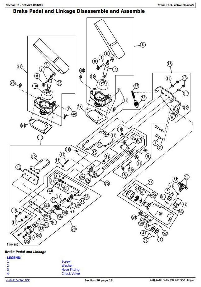 TM10243 - John Deere 444J (SN.from 611275) 4WD Loader Service Repair Technical Manual - 3