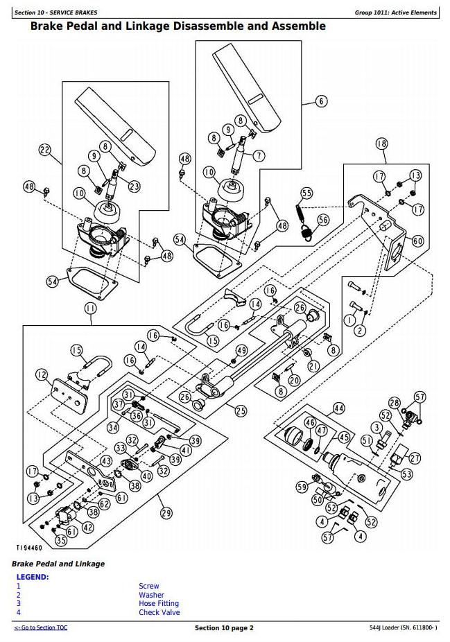 TM10244 - John Deere 544J 4WD Loader (SN. from 611800) Service Repair Technical Manual - 2