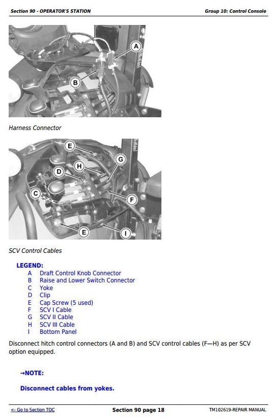 TM102619 - John Deere 5065M, 5075M, 5085M, 5095M, 5105M, 5105ML & 5095MH Tractors Repair Service Manual - 1