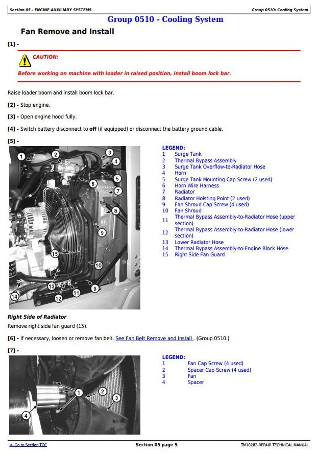 TM10282 - John Deere 310SJ TC, 410J TC Backhoe Loader w.TMC (SN. -161702) Service Repair Manual - 2