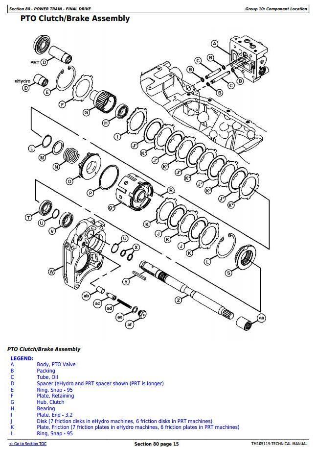 TM105119 - John Deere 4520, 4720 Compact Utility Tractors W/O Cab (SN. 650001-) Technical Service Manual - 2