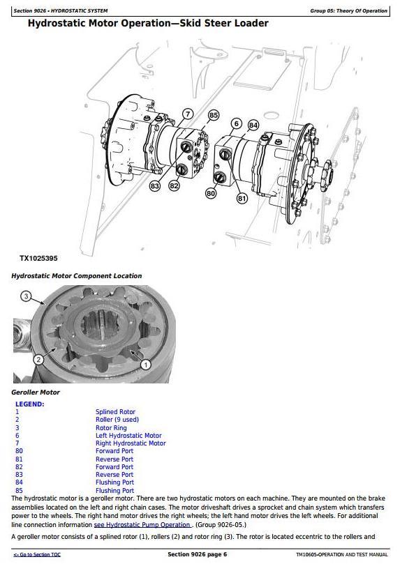 TM10605 - John Deere 313, 315 Skid Steer Loader; CT315 Compact Track Loader Diagnostic Service Manual - 1
