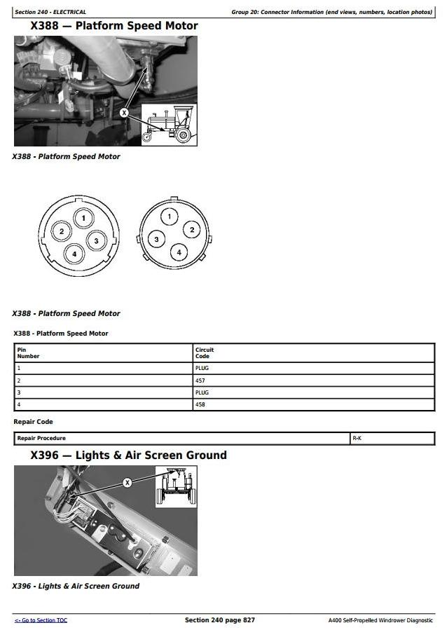 TM106519 - John Deere A400 Hay and Forage Self-Propelled Windrower Diagnostic & Tests Service Manual - 2