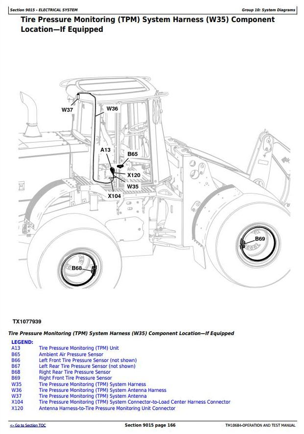 TM10684 - John Deere 444K (T3) 4WD Loader (SN.-642100) Diagnostic, Operation and Test Service Manual - 2