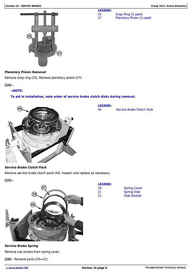 TM10685 - John Deere 444K w.Engine 4045HDW54 (T3) 4WD Loader (SN.before 642100) Service Repair Manual - 3