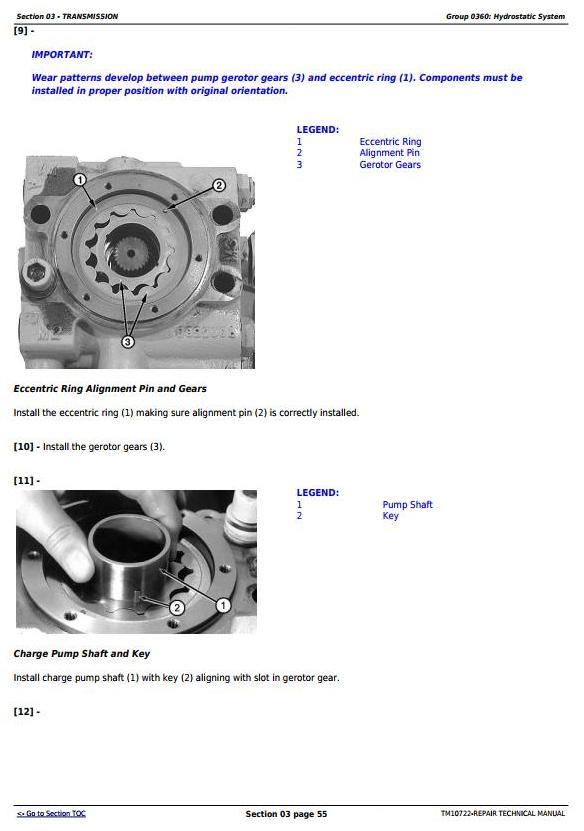 TM10722 - John Deere 450J, 550J, 650J (S.N.from 159987) Crawler Dozer Service Repair Technical Manual - 3