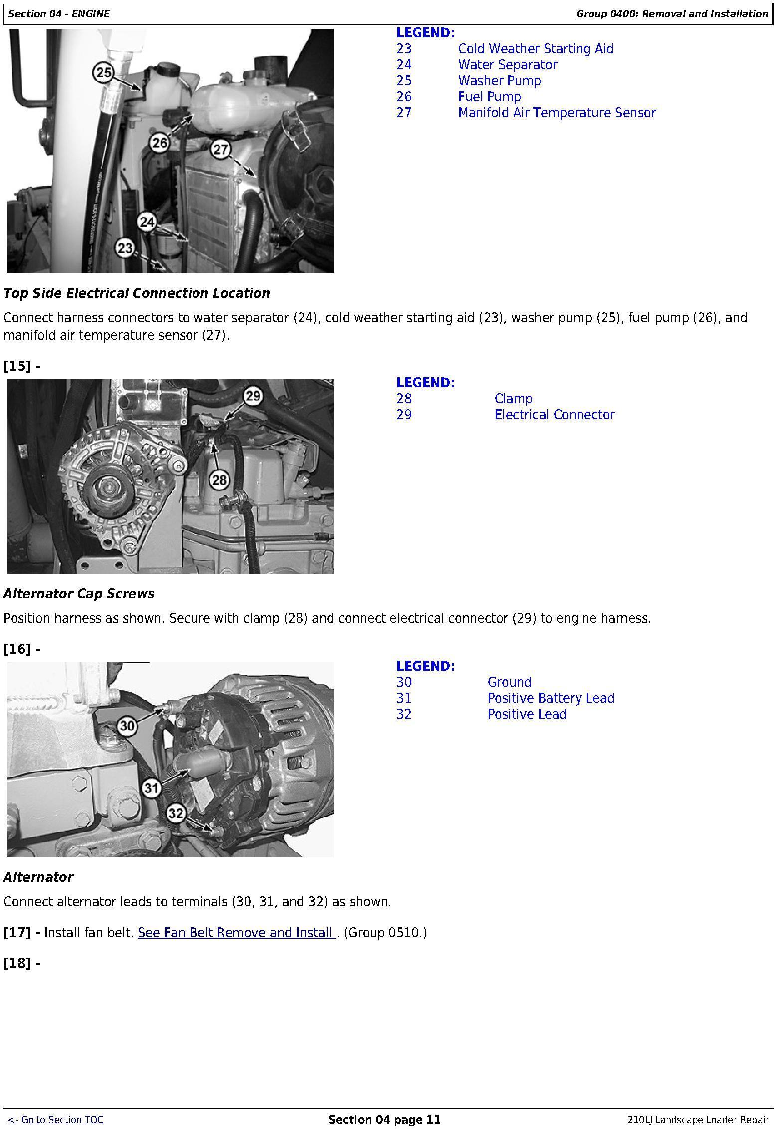 TM10731 - JD John Deere 210LJ Landscape Loader Repair Technical Manual - 2