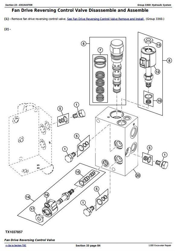 TM10737 - John Deere 120D Excavator Service Repair Manual - 2