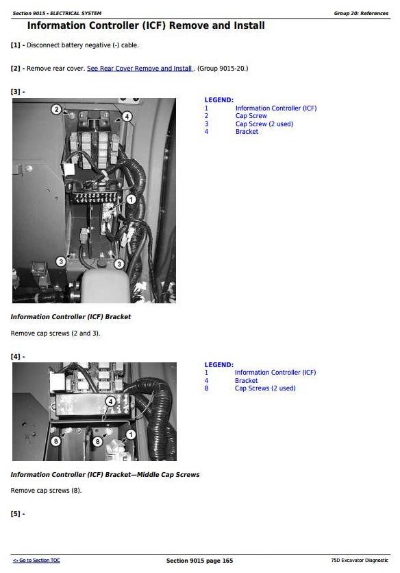 TM10748 - John Deere 75D Excavator Diagnostic, Operation and Test Service Manual - 1