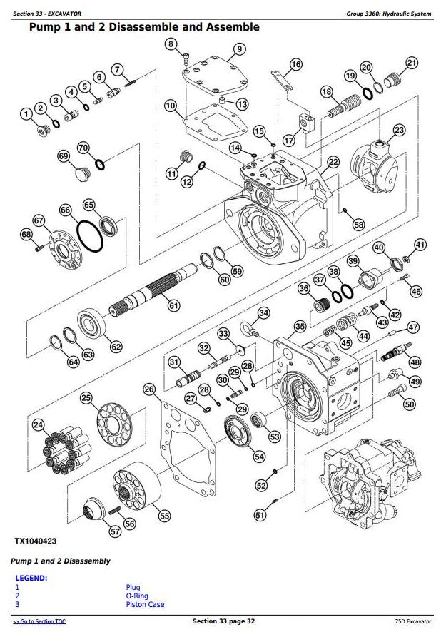 TM10749 - John Deere 75D Excavator Service Repair Technical Manual - 3