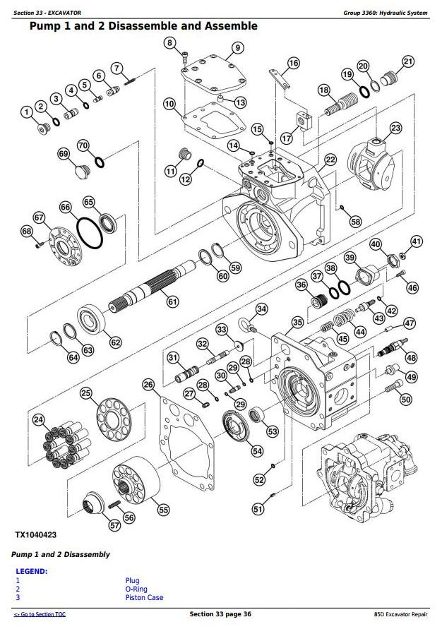 TM10755 - John Deere 85D Excavator Service Repair Technical Manual - 3