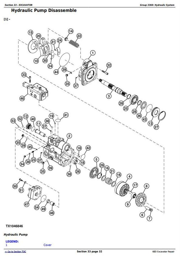 TM10761 - John Deere 60D Compact Excavator Service Repair Technical Manual - 3
