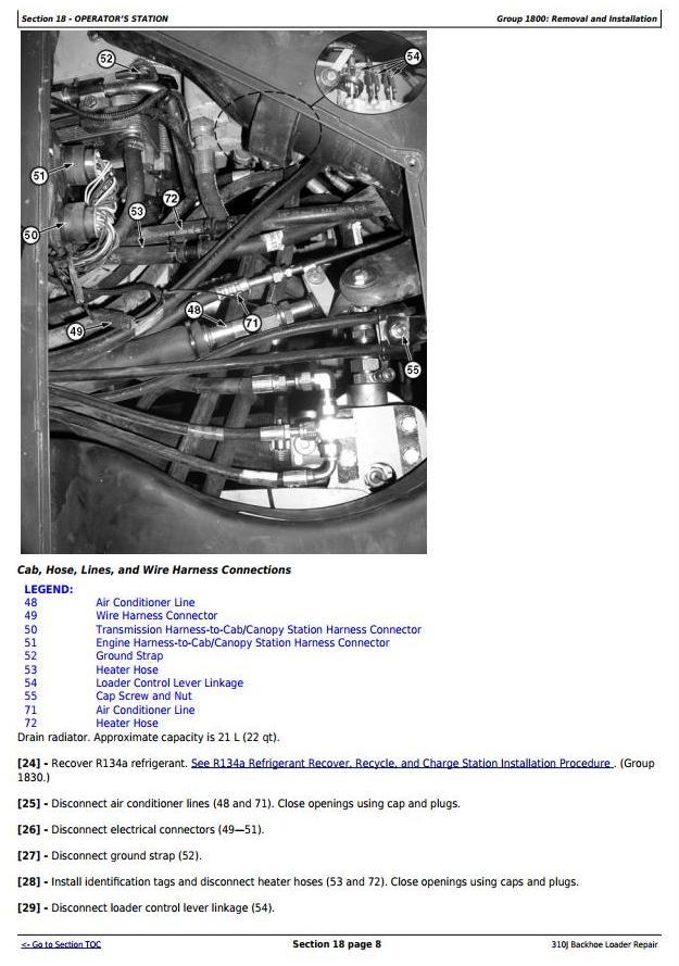 TM10847 - John Deere 310J Backhoe Loader (S.N. from 159760) Service Repair Technical Manual - 2