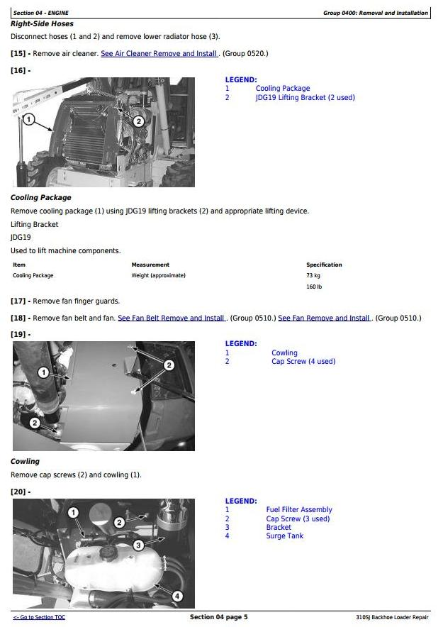 TM10849 - John Deere 310SJ Backhoe Loader (S.N. from 159760) Service Repair Technical Manual - 2
